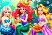 game Ariel`s Birthday Party