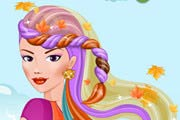 Autumn Princess Hairstyle