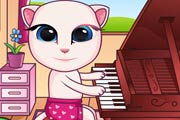 game Baby Angela Playing Piano