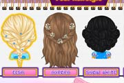 game Baby Barbie Disney Hair Salon