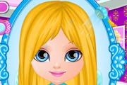 game Baby Barbie Frozen Hair Salon