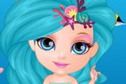 game Baby Barbie Mermaids Land