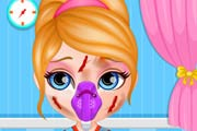 game Baby Barbie Skateboard Accident