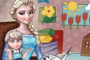 game Baby Lessons With Elsa