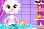 game Baby Talking Angela Care