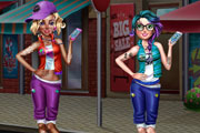 Bad Girl Dressup