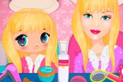 game Barbie And Daughter Fashionistas
