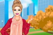 game Barbie Autumn Braids