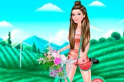 game Barbie Bike Luvin`