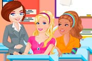 game Barbie Class Slacking