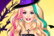 game Barbie Halloween Night