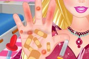 game Barbie Hand Doctor