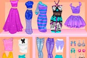 game Barbie Mix And Match: Patterns