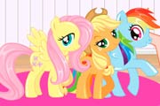 game Barbie My Little Pony Makeover