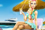 game Barbie Superhero Summer Vacation