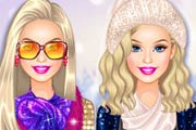 game Barbie Winter Glitter Trends