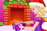 game Christmas Princess Kissing