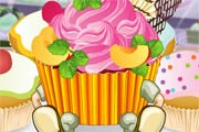 game Cute Cartoon Cupcakes Cooking