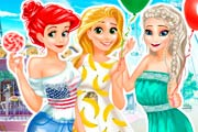 game Disney Princess BFFs Spree
