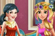 game Disney Princesses Pyjama Party