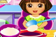 game Dora Blueberry Ice Cream
