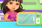 game Dora Chocolate Banana Cake