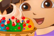 Dora Ice Cream Decoration