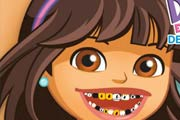 game Dora The Explorer Dental Care