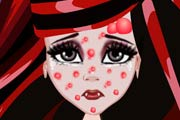 game Draculaura Facial Treatment