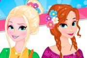 game Elsa And Anna Spring Trends