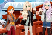 game Elsa And Friends Winter Days