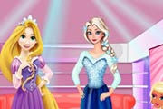 game Elsa And Rapunzel Party