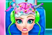 game Elsa Brain Doctor