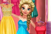 game Elsa Fashion Day