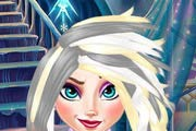 game Elsa Frozen Real Haircuts