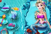 game Elsa Mermaid Adventure