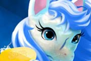 game Elsa Pony Caring