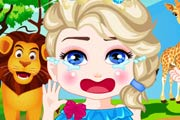 game Elsa Safari Slacking