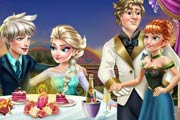 game Elsa Valentine`s Day Kiss
