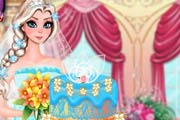 game Elsa Wedding Cake 2