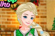 game Elsa`s Ugly Christmas Sweater