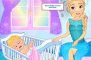game Elsa's Womb Baby Play