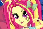 game Equestria Girls RoseLuck Rockin' Style