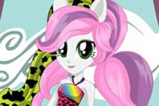 game Equestria Girls Wild Rainbow Sweetie Belle Dress Up