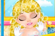 game Fairytale Baby: Rapunzel Caring
