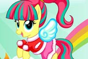 game Fluttershy My Little Pony Rainbow Power Style