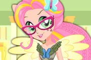 game Fluttershy School Spirit Style