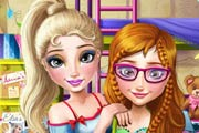 game Frozen College Real Makeover