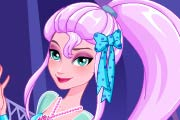 game Frozen Elsa's Magical Frosty Fashion
