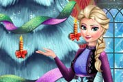 game Frozen Perfect Christmas Tree